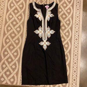Lily Pulitzer Black Shift Dress